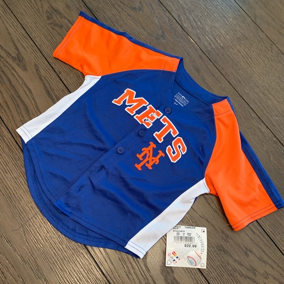 new arrival bfa62 56871 Mets toddler jersey